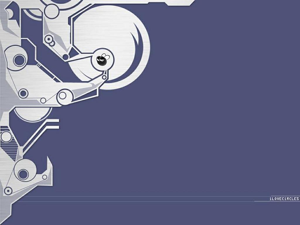 Abstract Wallpaper: I Love Circles - Superfly