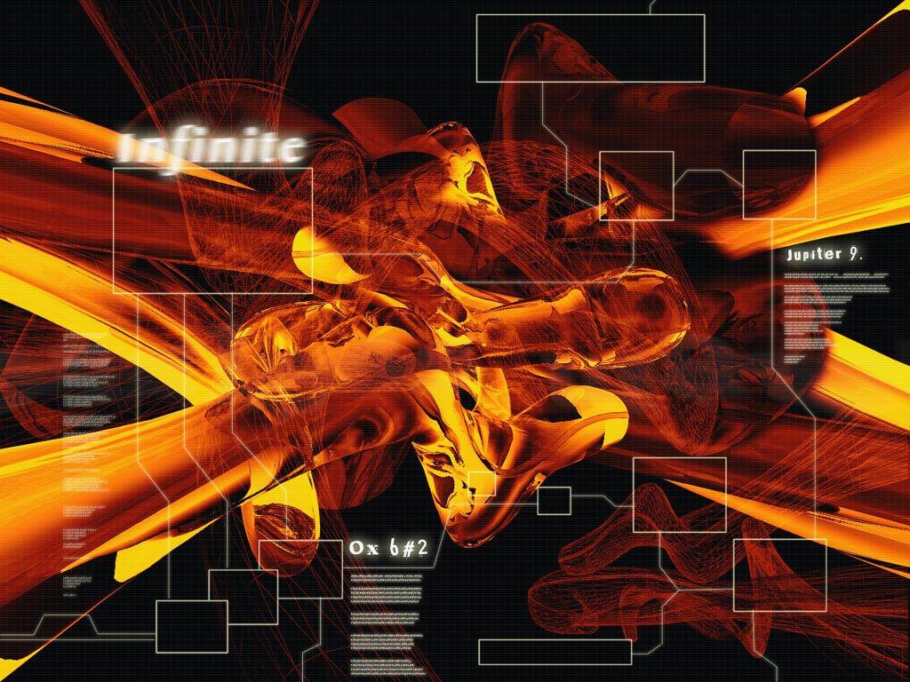 Abstract Wallpaper: Infinite