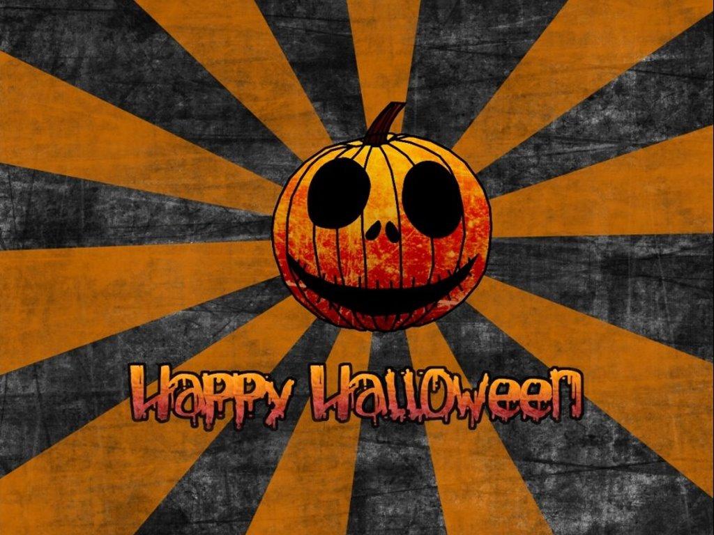 Abstract Wallpaper: Jack-O Halloween