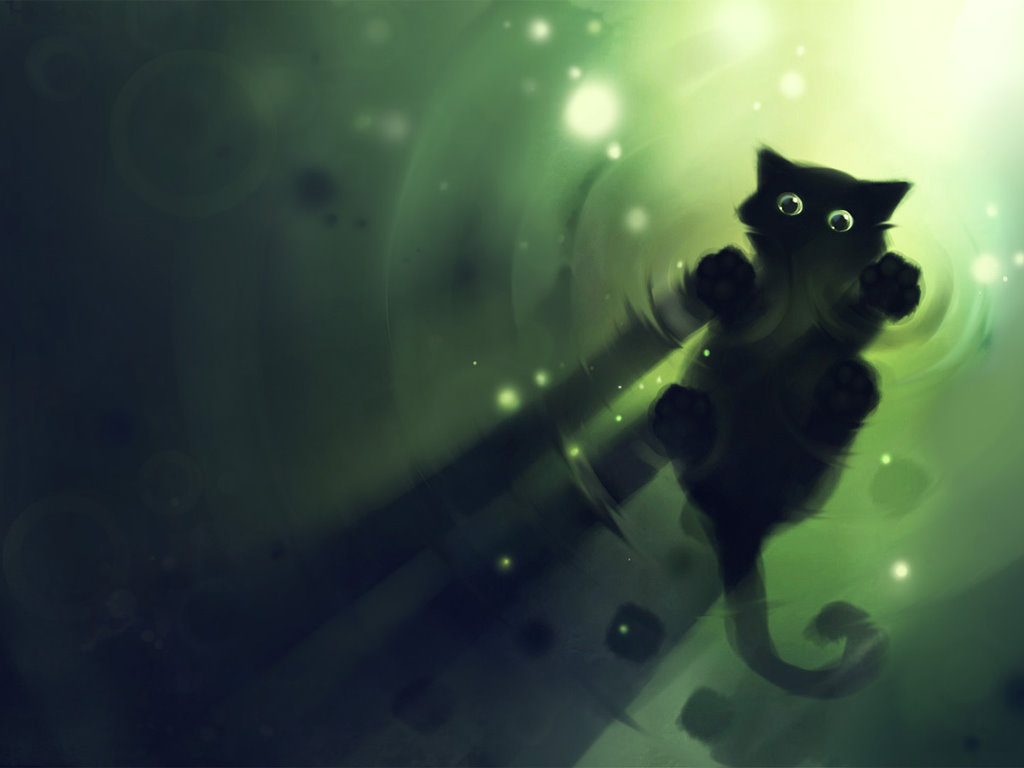Abstract Wallpaper: Kitty