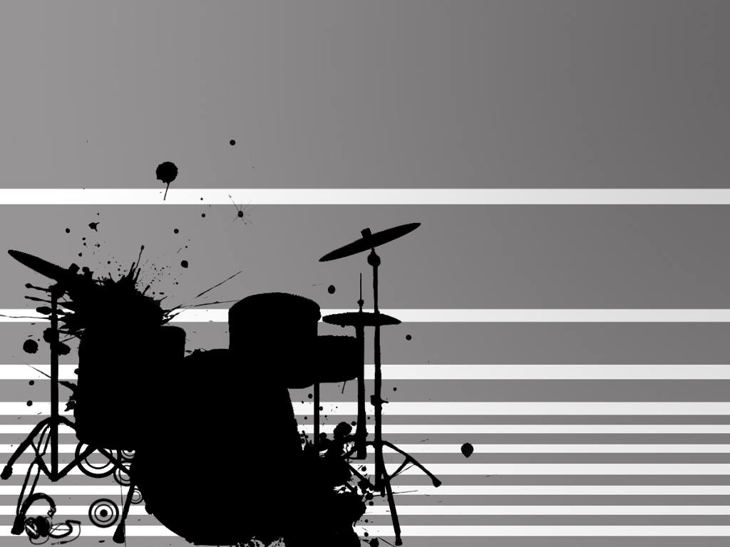 Abstract Wallpaper: Killer Drum