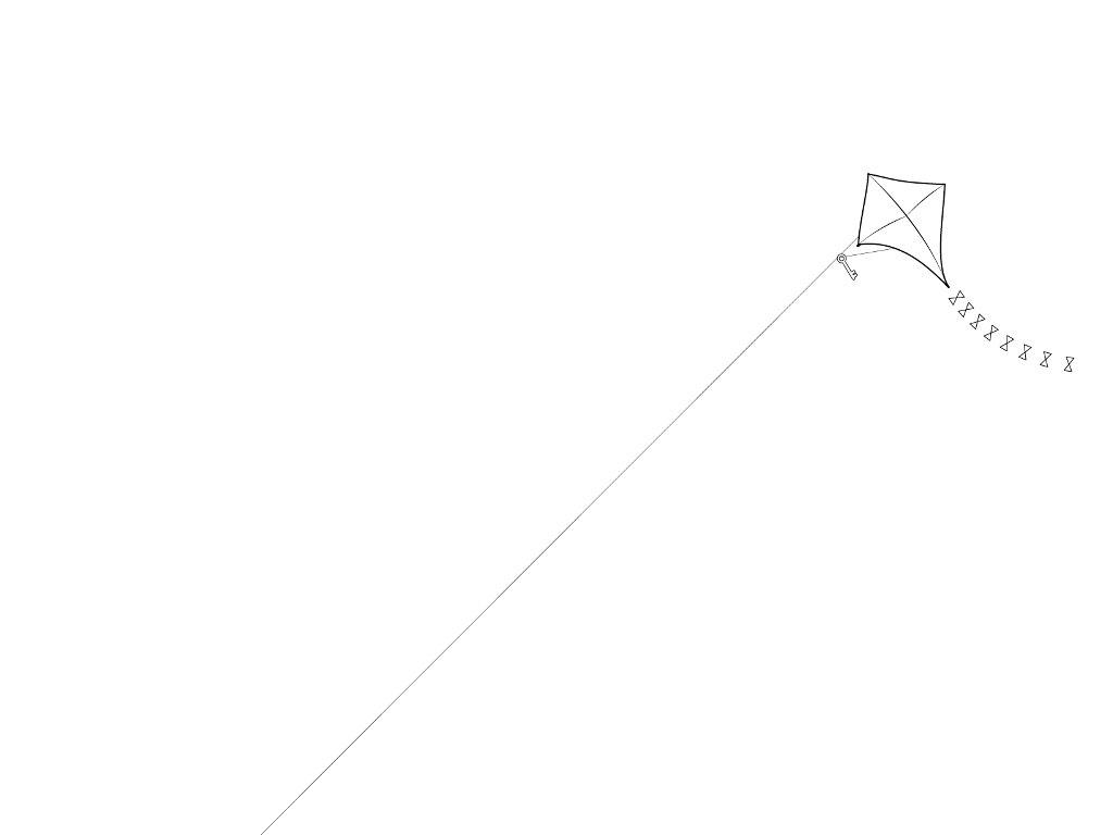 Abstract Wallpaper: Kite