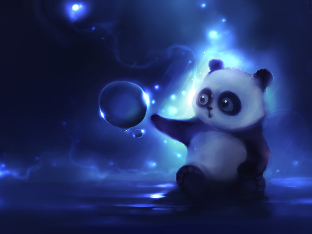 Abstract Wallpaper: Lil Panda