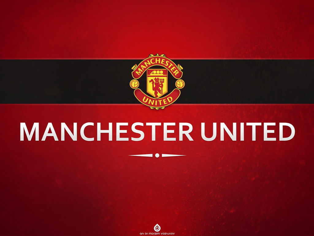 Abstract Wallpaper: Manchester United