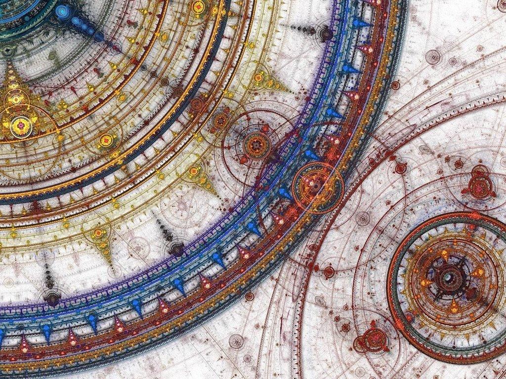 Abstract Wallpaper: Mandalas