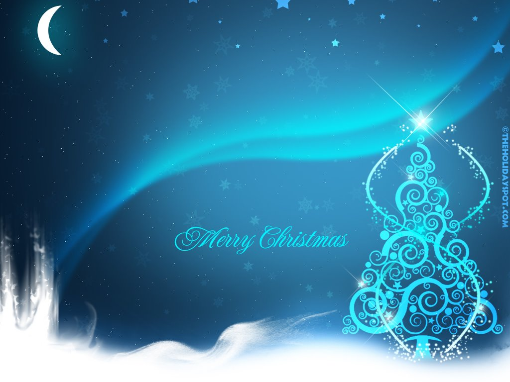 Abstract Wallpaper: Merry Christmas