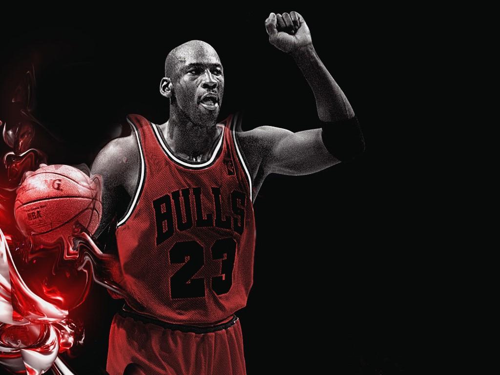 Abstract Wallpaper: Michael Jordan