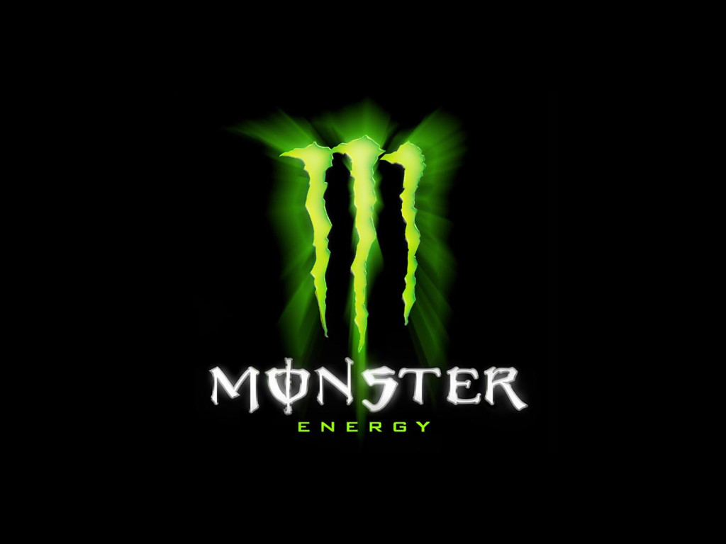Abstract Wallpaper: Monster Energy