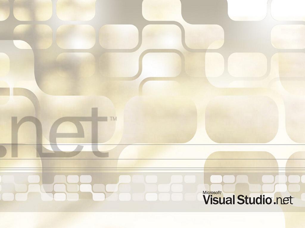 Abstract Wallpaper: MSDN - Visual Studio .NET