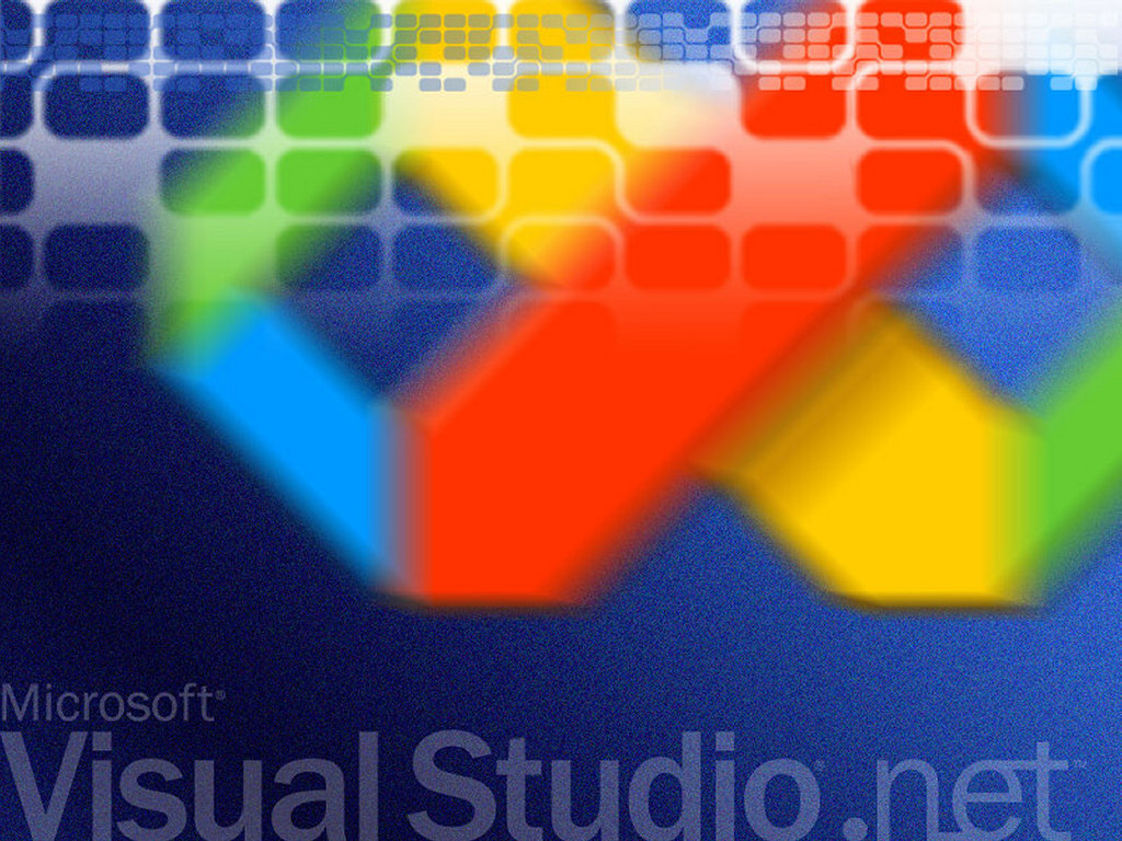 Abstract Wallpaper: MSDN - Visual Studio .NET