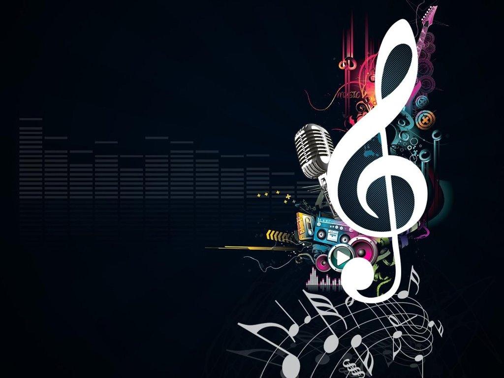 Abstract Wallpaper: Music