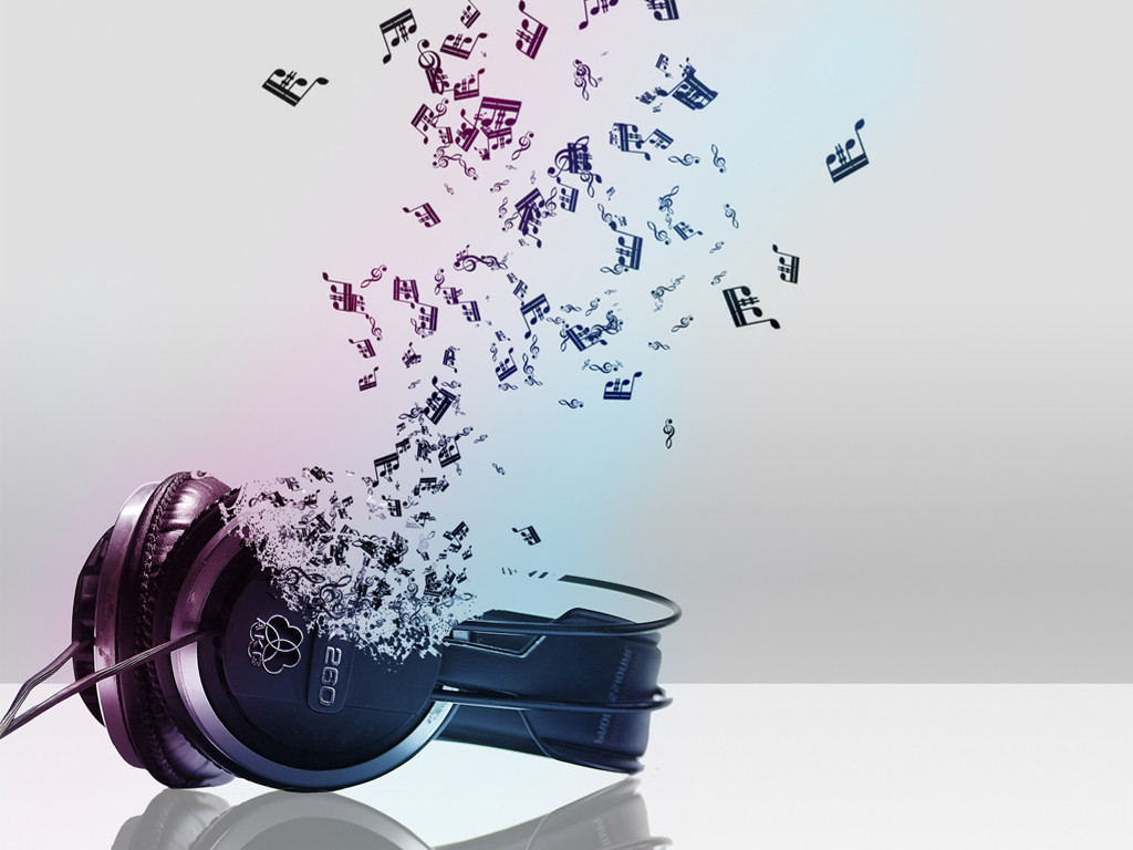 Abstract Wallpaper: Music Forever