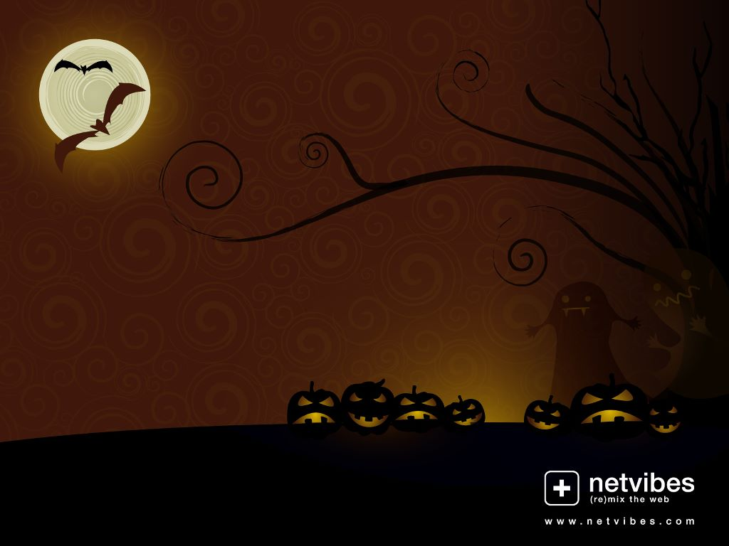 Abstract Wallpaper: Netvibes - Halloween