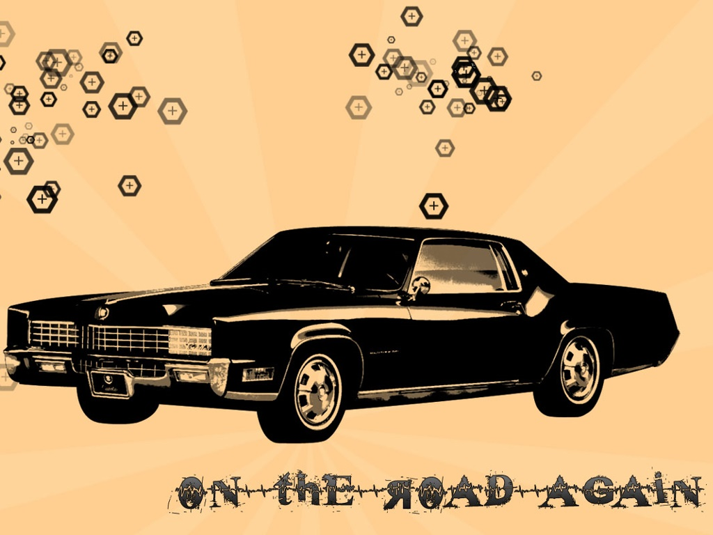 Abstract Wallpaper: On The Road Again