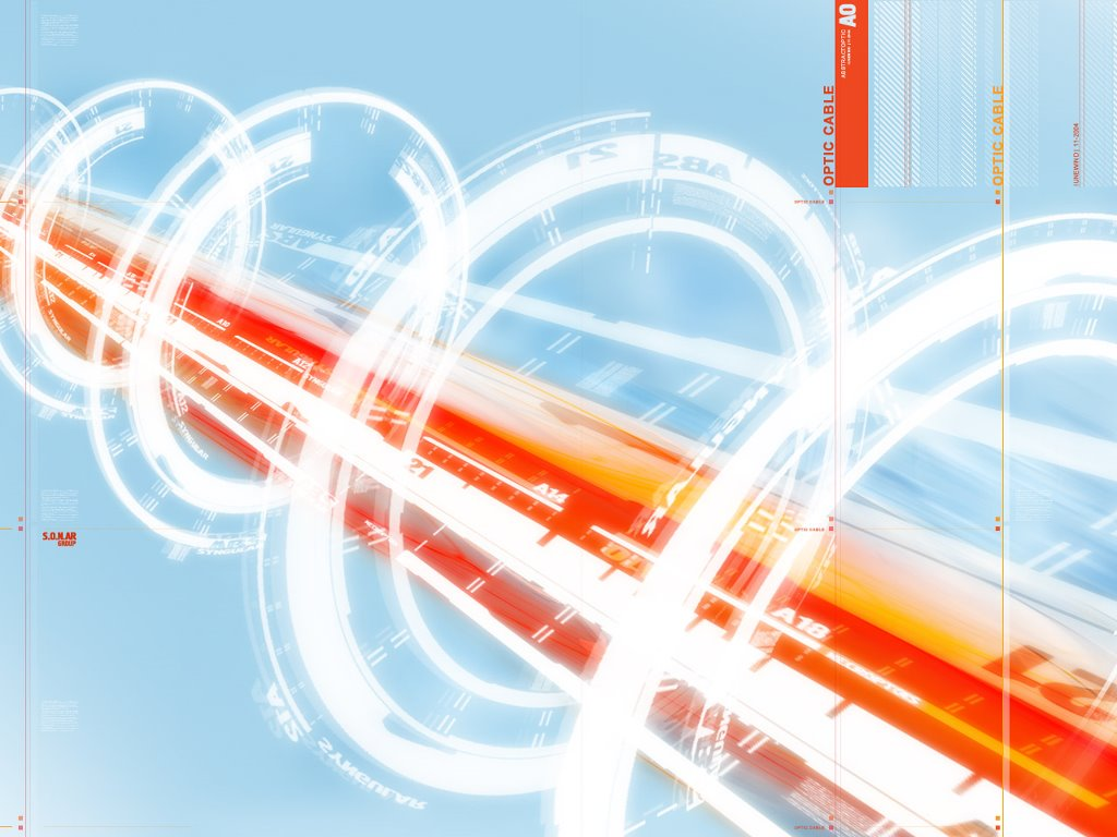 Abstract Wallpaper: Optical Cable