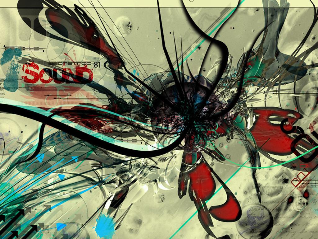 Abstract Wallpaper: Paradox Child