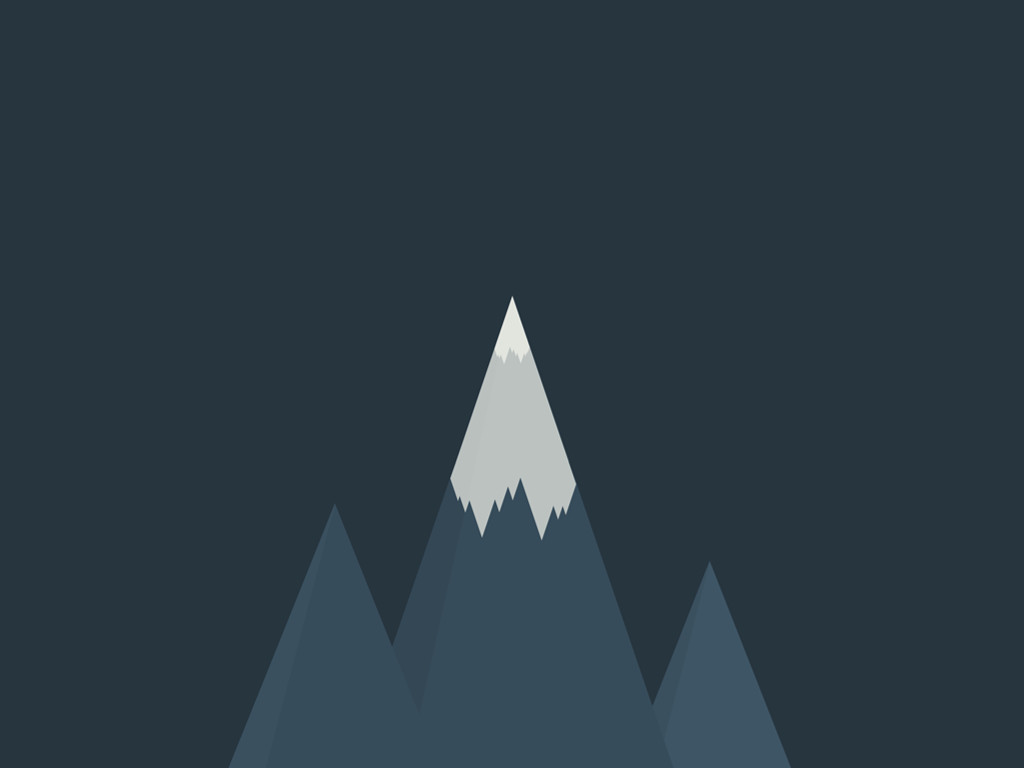 Abstract Wallpaper: Peaks