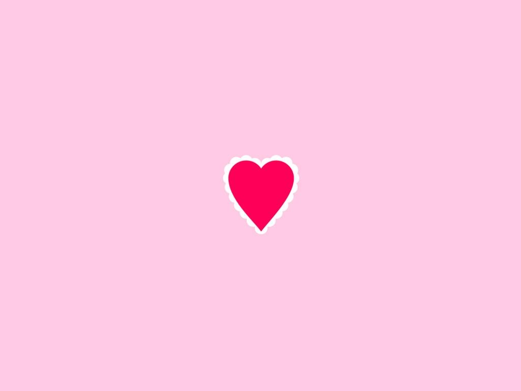 Abstract Wallpaper: Pink Heart