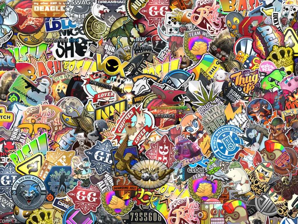 Abstract Wallpaper: Pins