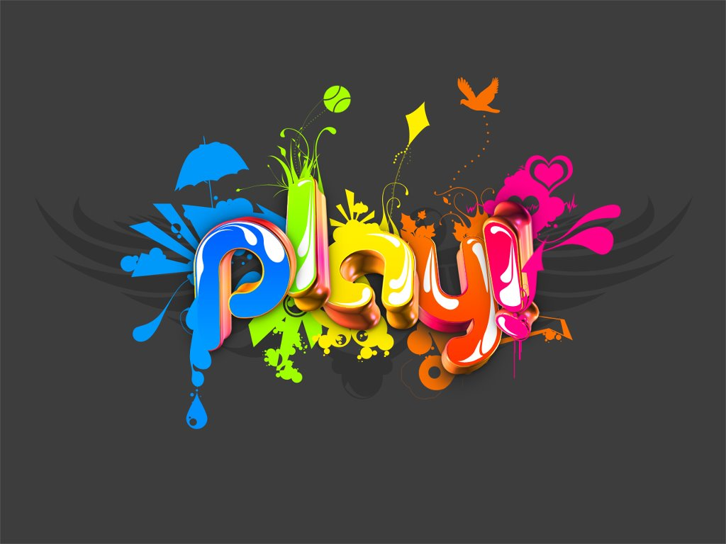 Abstract Wallpaper: Play