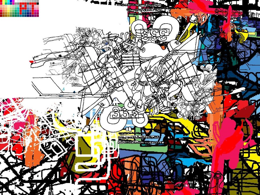 Abstract Wallpaper: Presstube Top