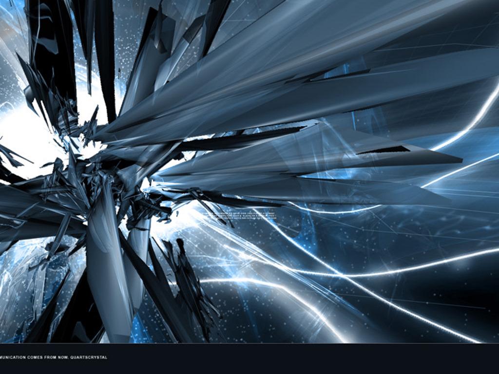 Abstract Wallpaper: Quartscrystal