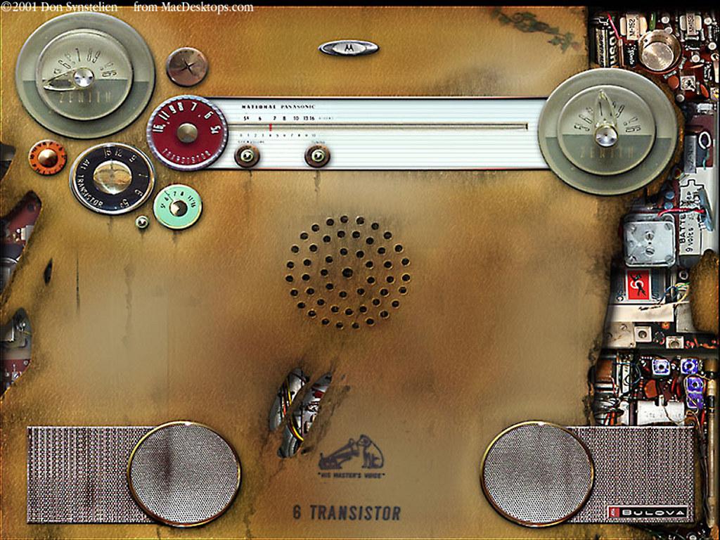 Abstract Wallpaper: Radio Skin
