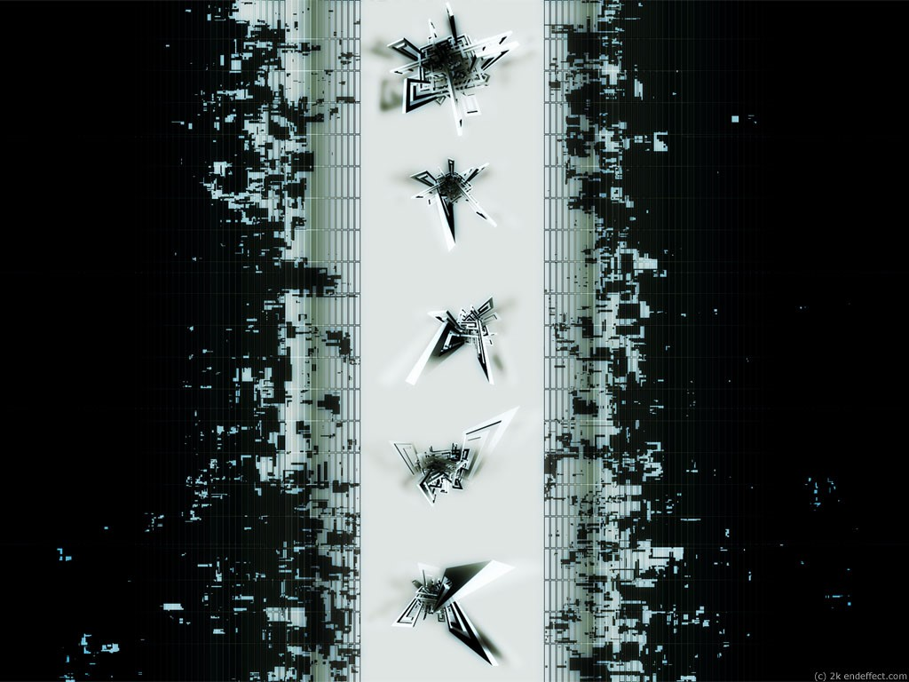 Abstract Wallpaper: Recodite (Dark)