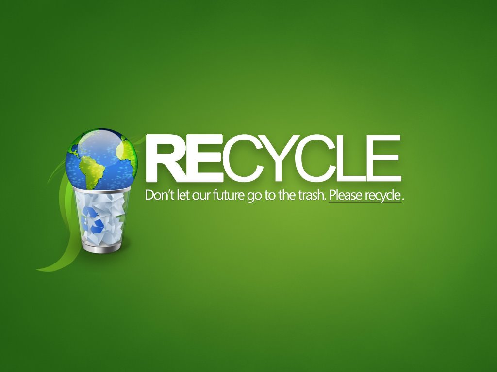 Abstract Wallpaper: Recycle