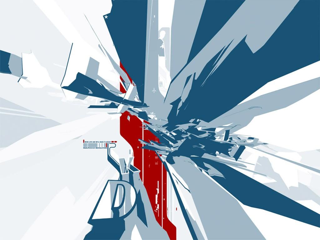 Abstract Wallpaper: Revolution