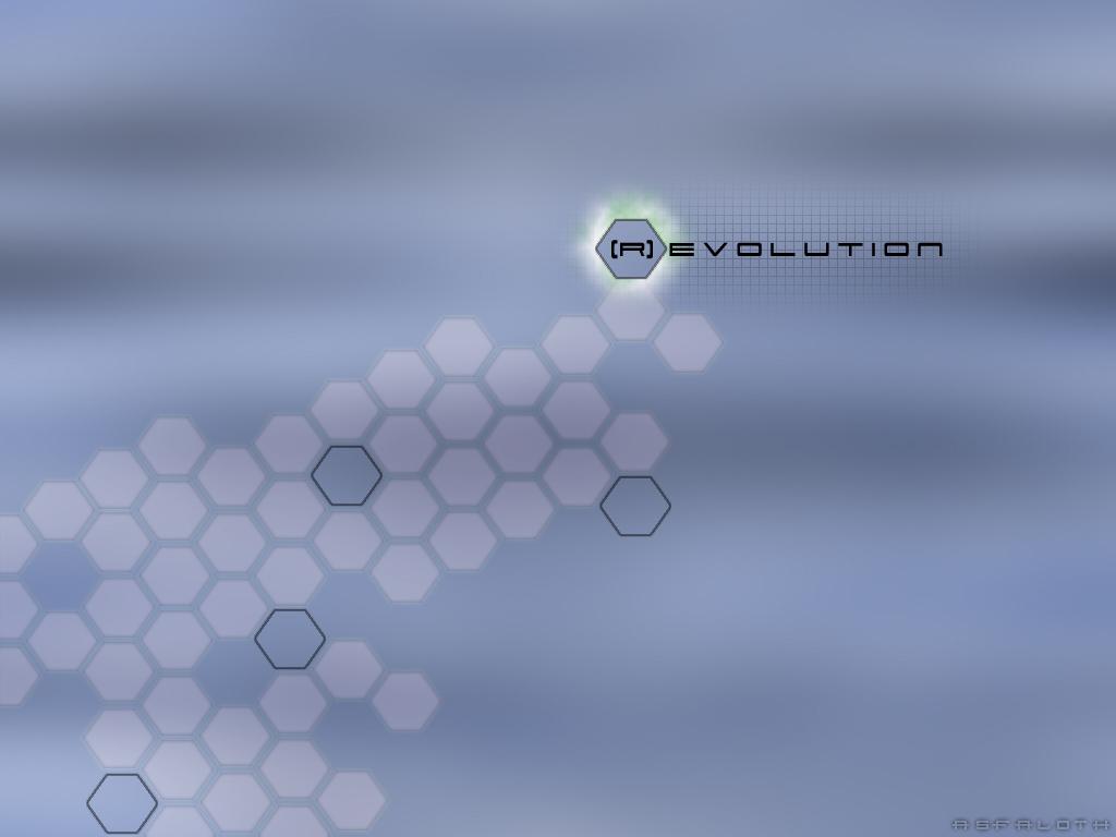 Abstract Wallpaper: (r)Evolution