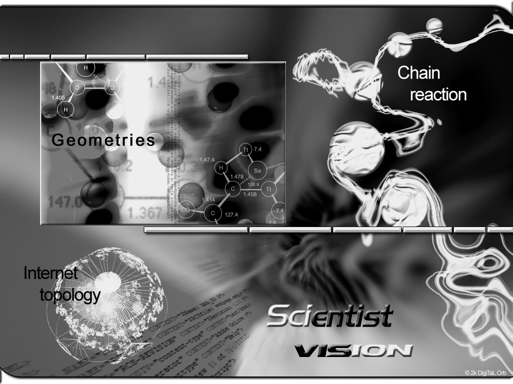 Abstract Wallpaper: Scientist Vision