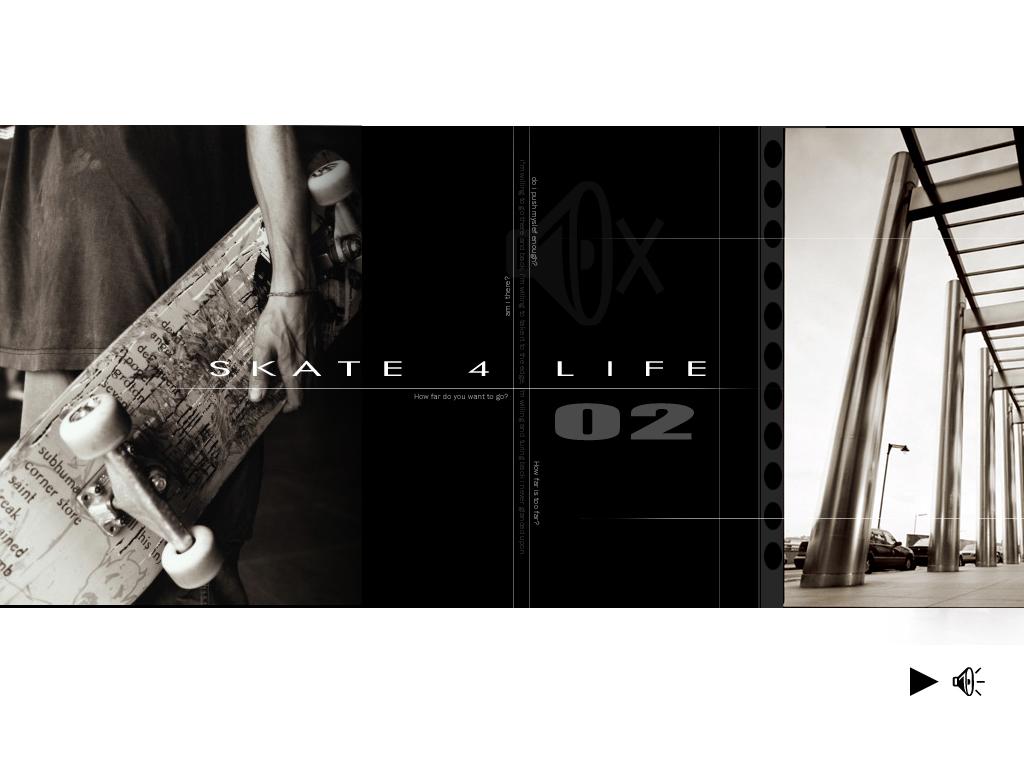 Abstract Wallpaper: Skate