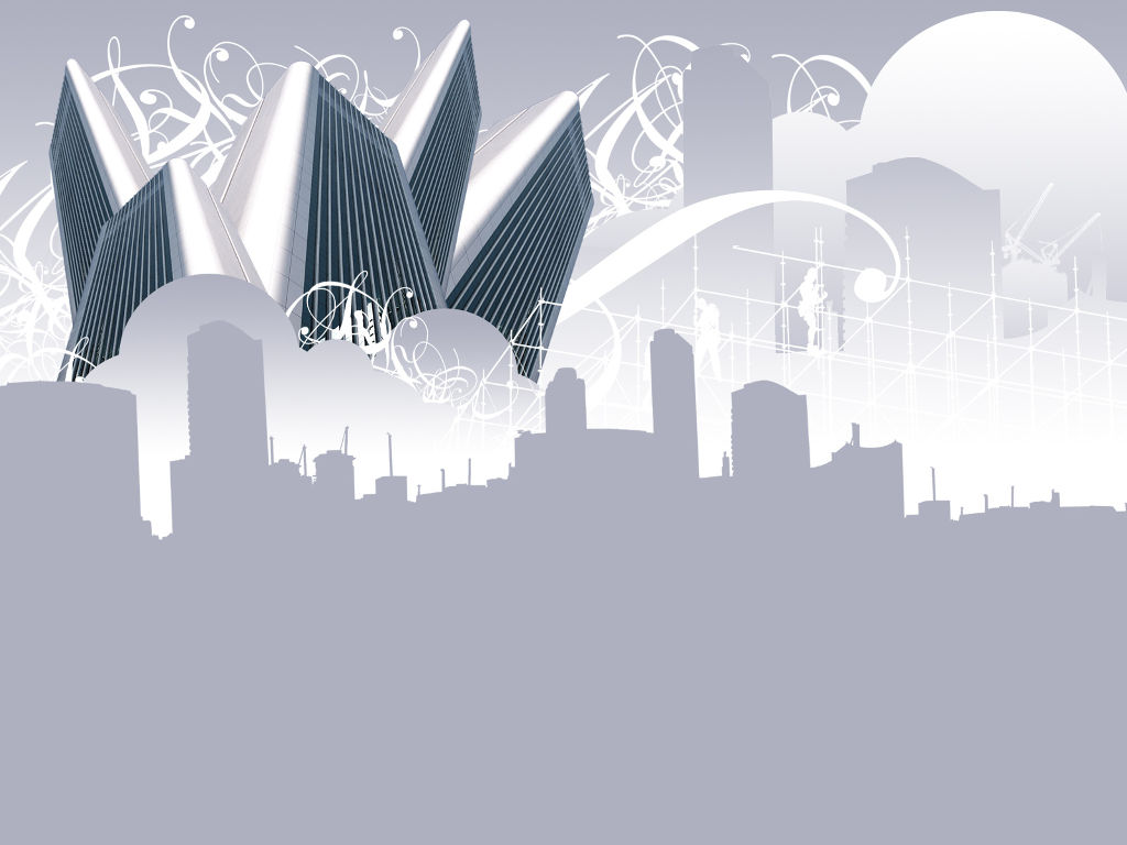 Abstract Wallpaper: Skyscrappers