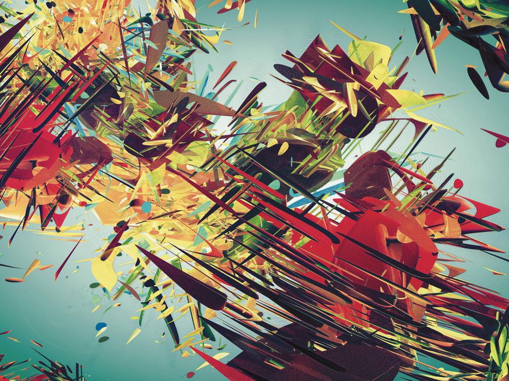 Abstract Wallpaper: Struggle