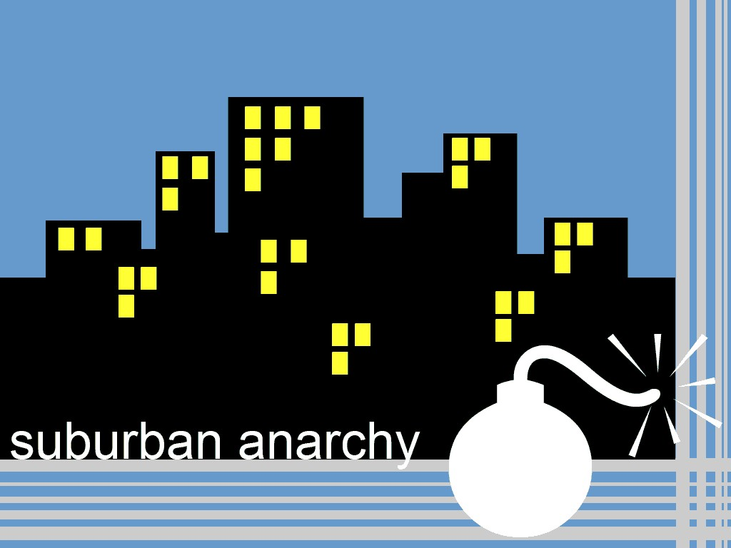 Abstract Wallpaper: Suburban Anarchy