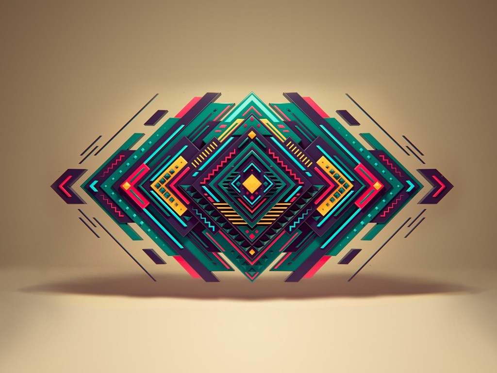 Abstract Wallpaper: Symmetry