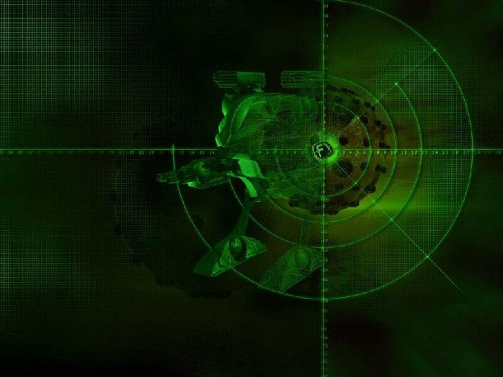 Abstract Wallpaper: Target Locked