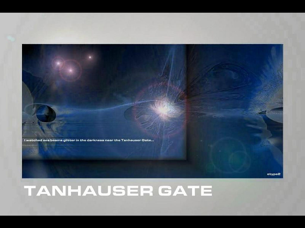 Abstract Wallpaper: Tanhauser Gate