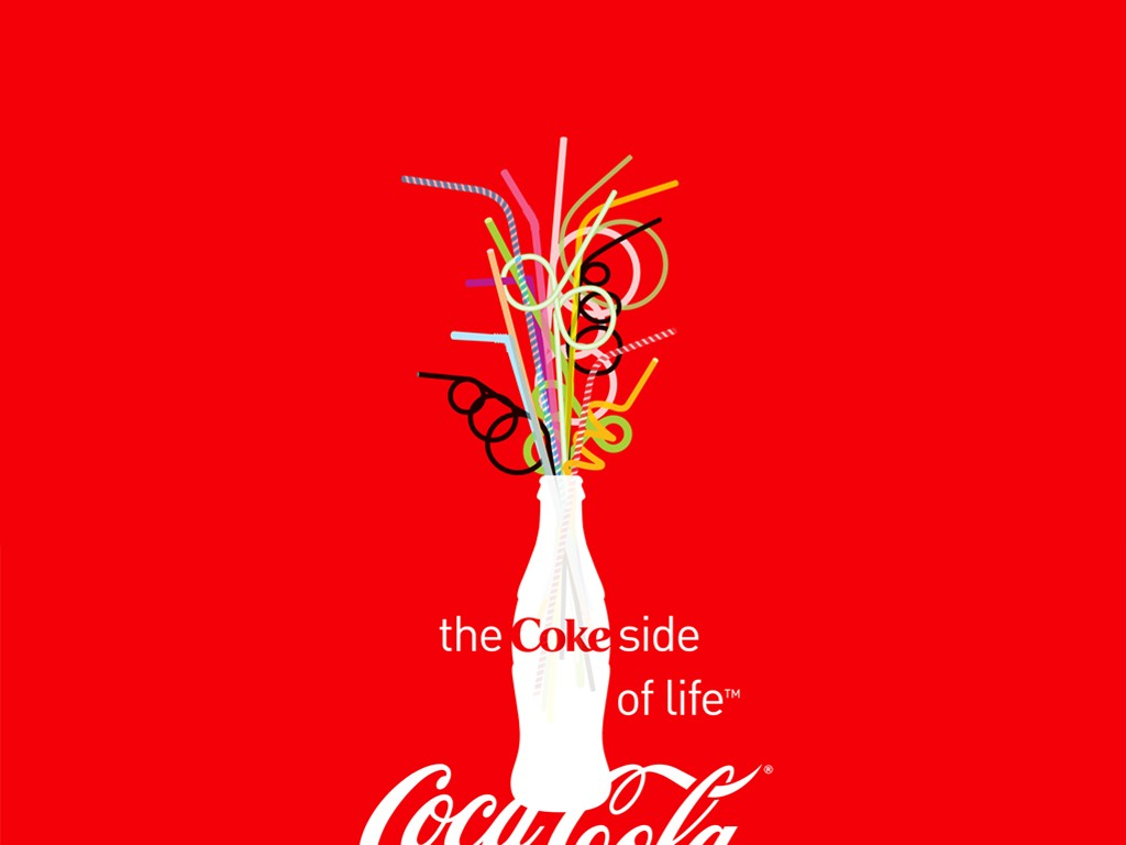 Abstract Wallpaper: The Coke Side of Life