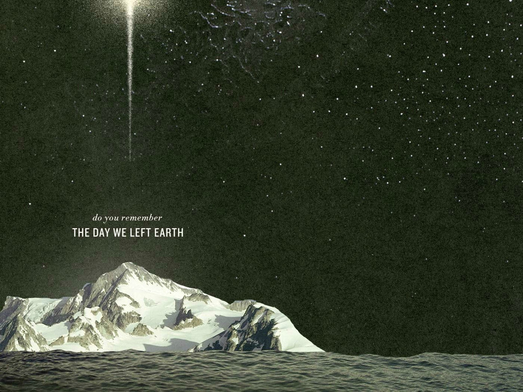 Abstract Wallpaper: The Day We Left Earth