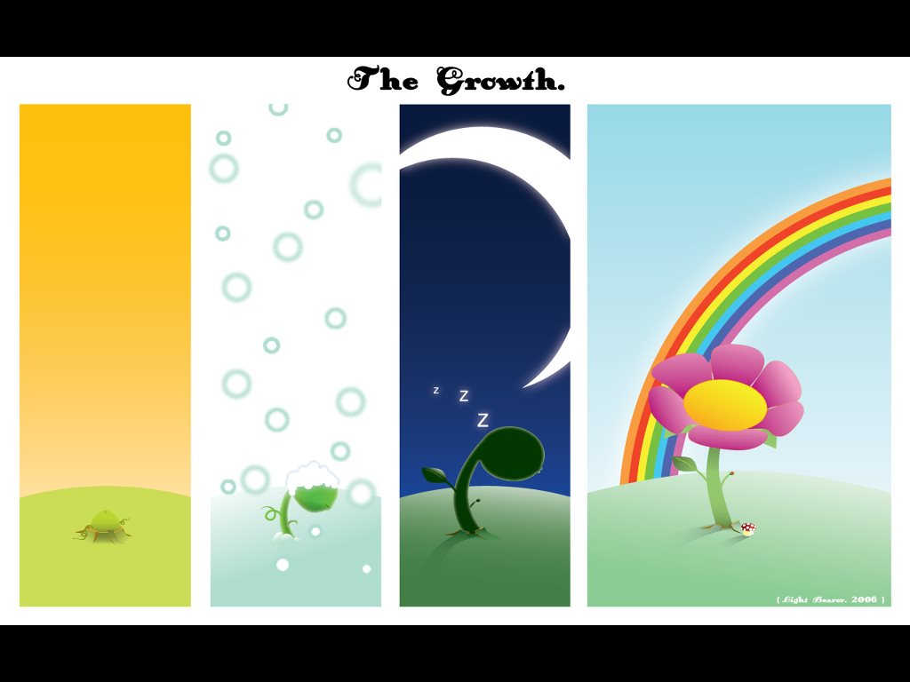 Abstract Wallpaper: The Growth