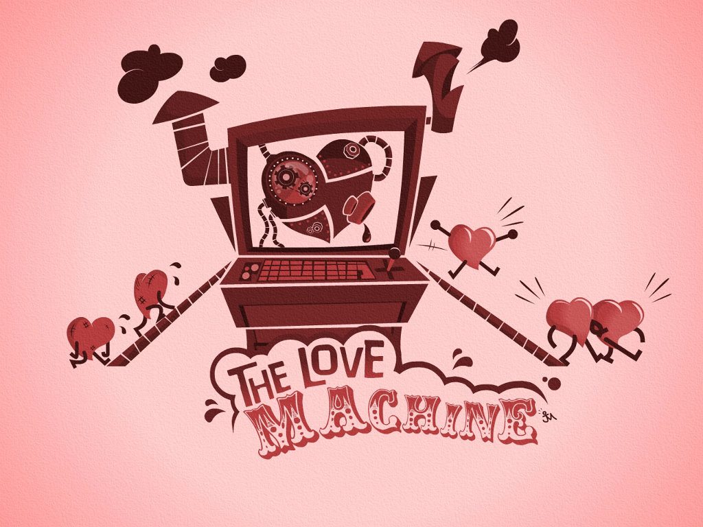 Abstract Wallpaper: The Love Machine