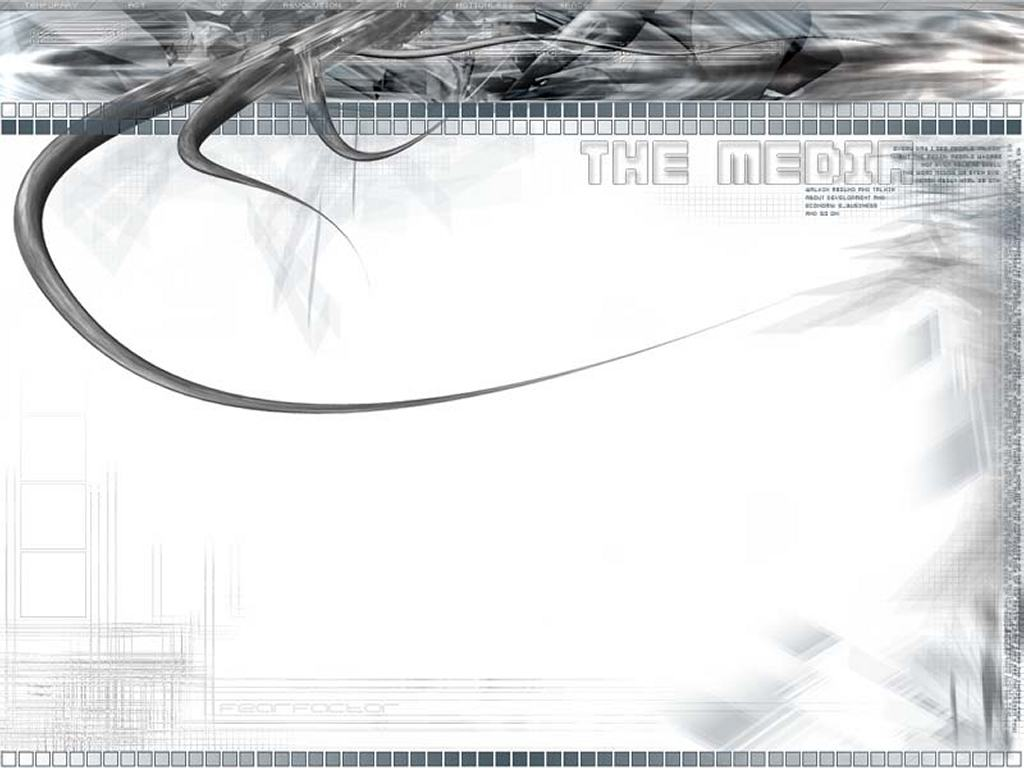 Abstract Wallpaper: The Media