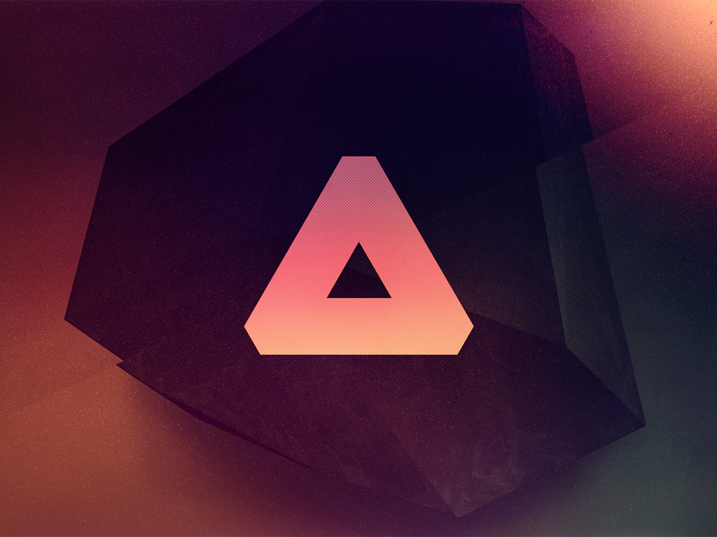Abstract Wallpaper: The Triangle
