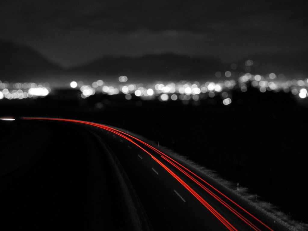 Abstract Wallpaper: Traffic