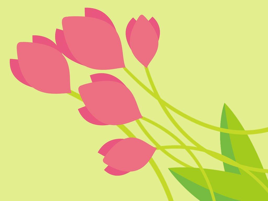 Papel de Parede Gratuito de Abstrato : Tulip