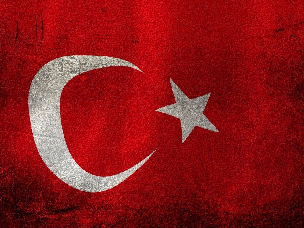 Abstract Wallpaper: Turkey Flag