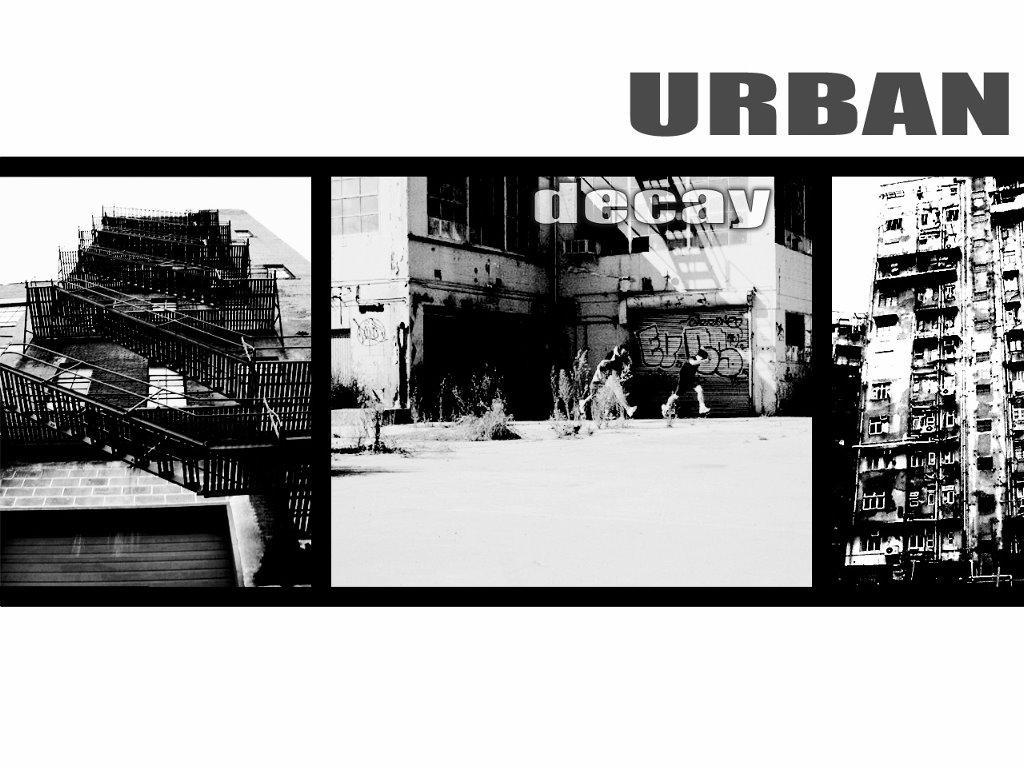 Abstract Wallpaper: Urban Decay