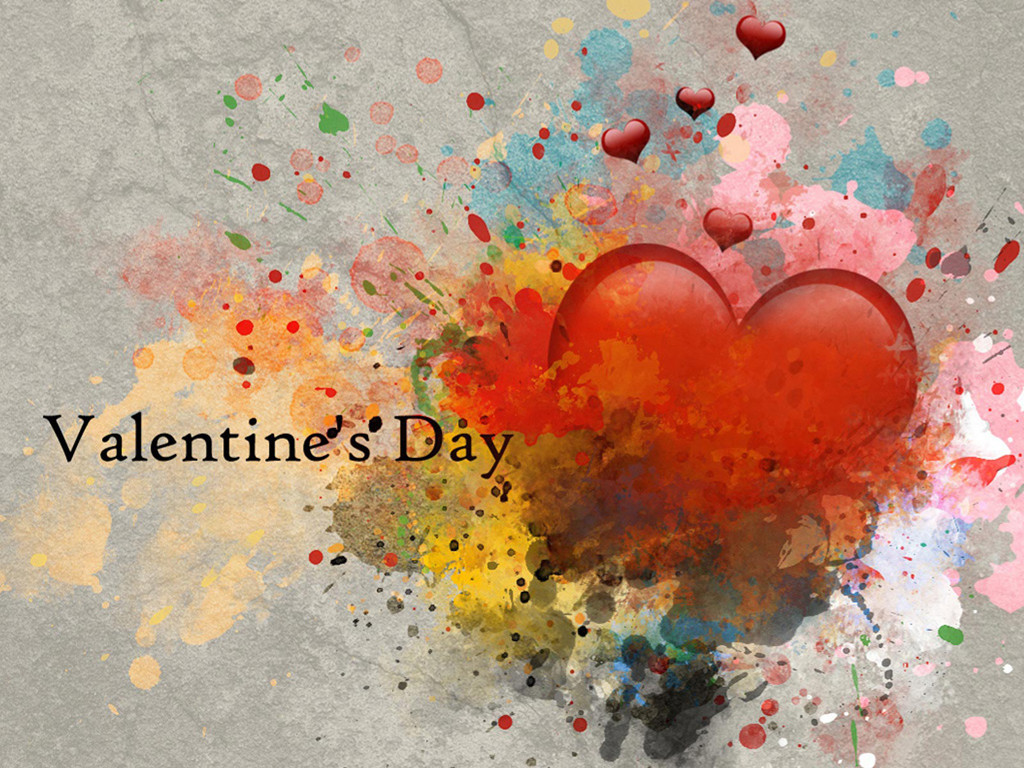 Abstract Wallpaper: Valentine's Day